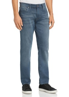 Mavi Marcus Straight Slim Fit Jeans in Dark Blue/Gray