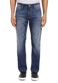 Mavi Marcus Straight Slim Fit Jeans in Dark Brushed Williamsburg