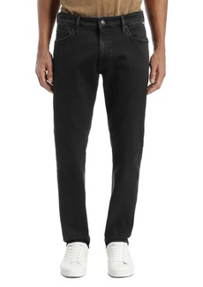 Mavi Marcus Straight Slim Fit Jeans in Ink Supermove