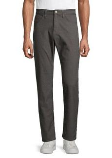 Mavi Matt Brown Straight-Leg Pants