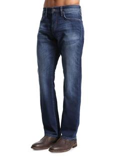 Mavi Myles Dark Williamsburg Straight-Leg Jeans