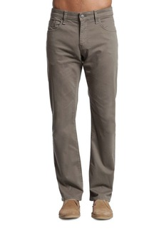 Mavi Zach Dusty Olive Straight-Leg Pants