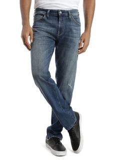 Mavi Zach Straight Fit Jeans in Dark Blue Authentic Vintage