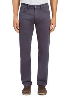Mavi Zach Straight Fit Twill Pants in Dark Blue