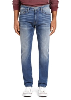 Mavi Zach Straight Leg Jeans in Mid Foggy Williamsburg