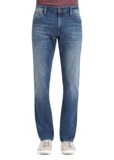 Mavi Zach Straight Leg Jeans (Mid Tonal Williamsburg)