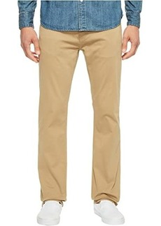 Mavi Zach Classic Straight Jeans in British Khaki Twill