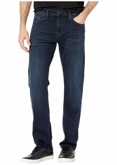 Mavi Zach Mid-Rise Straight in Ink Brushed Cashmere