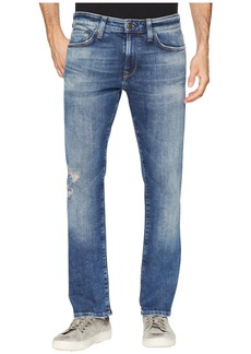 Mavi Zach Regular Rise Straight Leg Mid Ripped Authentic Vintage