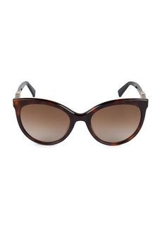 Max Mara 52MM Jewel II Oval Sunglasses