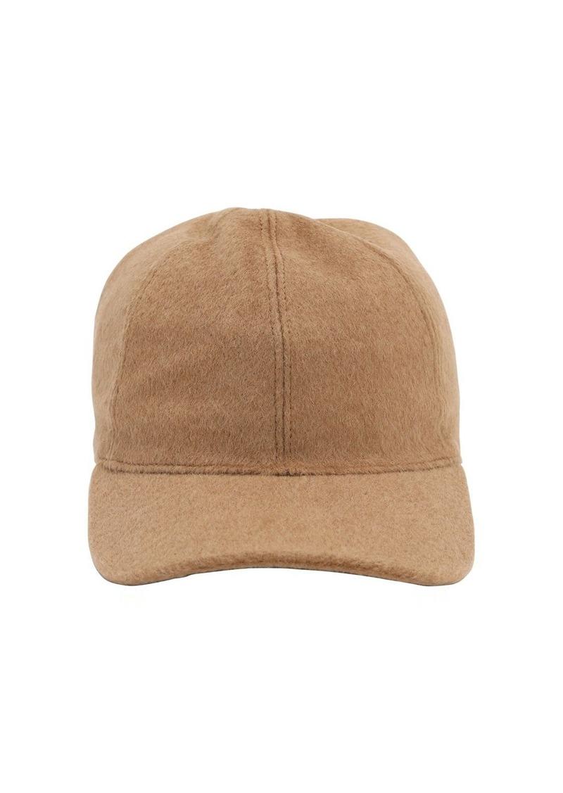 Max Mara Amiche Camel Baseball Hat