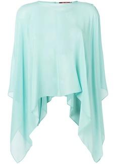 Max Mara asymmetric hem blouse