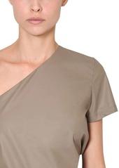Max Mara Asymmetrical Cotton Top
