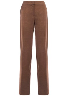 Max Mara Batavia Silk & Camel Straight Pants