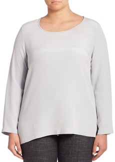 Max Mara Plus Biarritz Silk Blouse