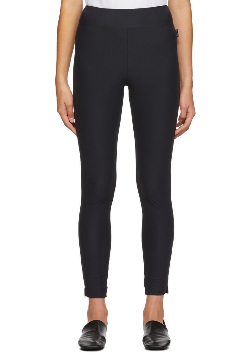 Max Mara Black Odile Leggings