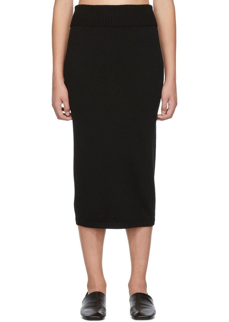 Max Mara Black Uruguay Skirt