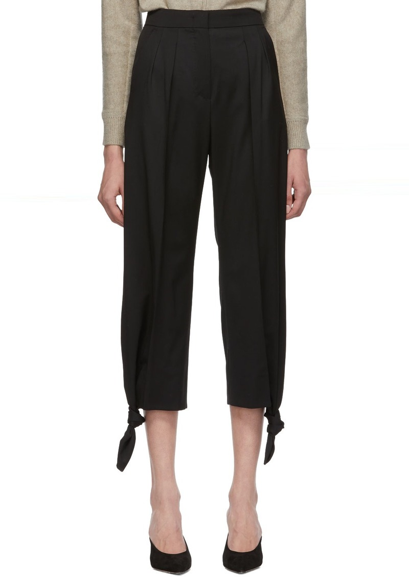 Max Mara Black Voghera Trousers