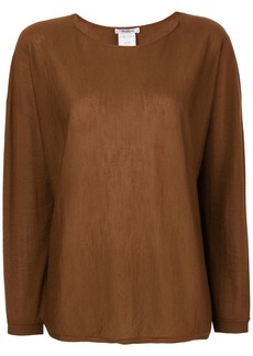 Max Mara boat-neck shirt