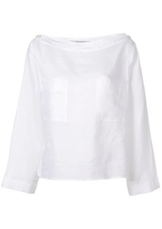 Max Mara chest pocket blouse