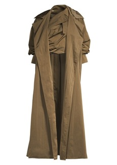 Max Mara Chicco Taffeta Trench Coat