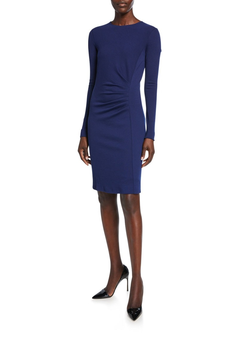 Max Mara Colimbo Ruched-Jersey Bodycon Dress