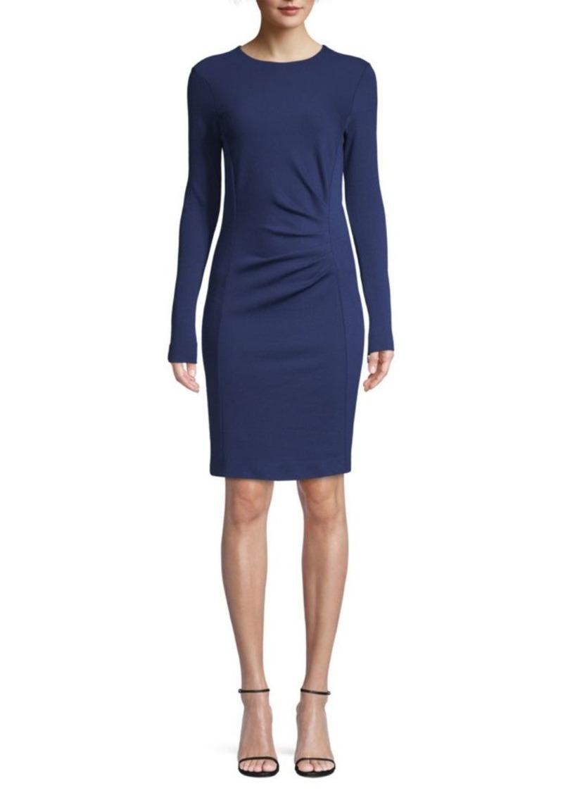 Max Mara Colimbo Virgin Wool Ruched Dress