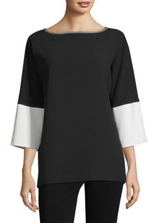 Max Mara Colorblock Top