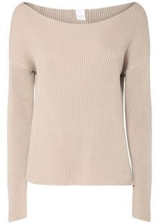 Max Mara Cotton Blend Knit Sweater