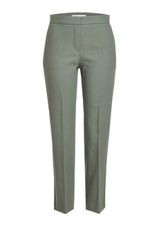 Max Mara Cropped Cotton Trousers