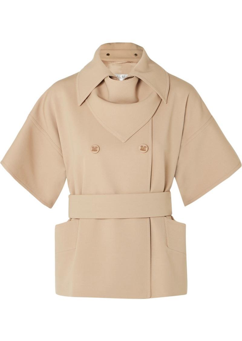 Max Mara Double-breasted Wool-twill Jacket