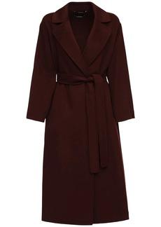 Max Mara Elena Belted Double Wool Long Coat