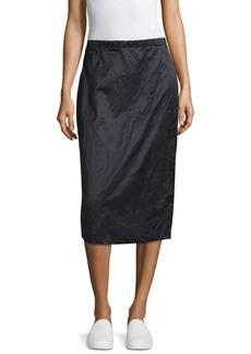Max Mara Elio Crinkle Skirt