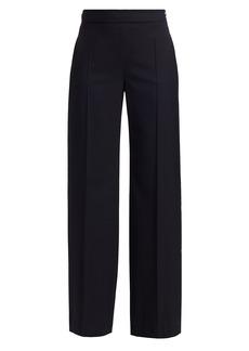 Max Mara Elio Wide-Leg Wool Pants
