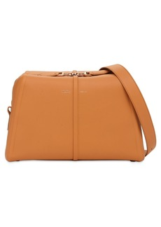 Max Mara Elsac Smooth Leather Shoulder Bag