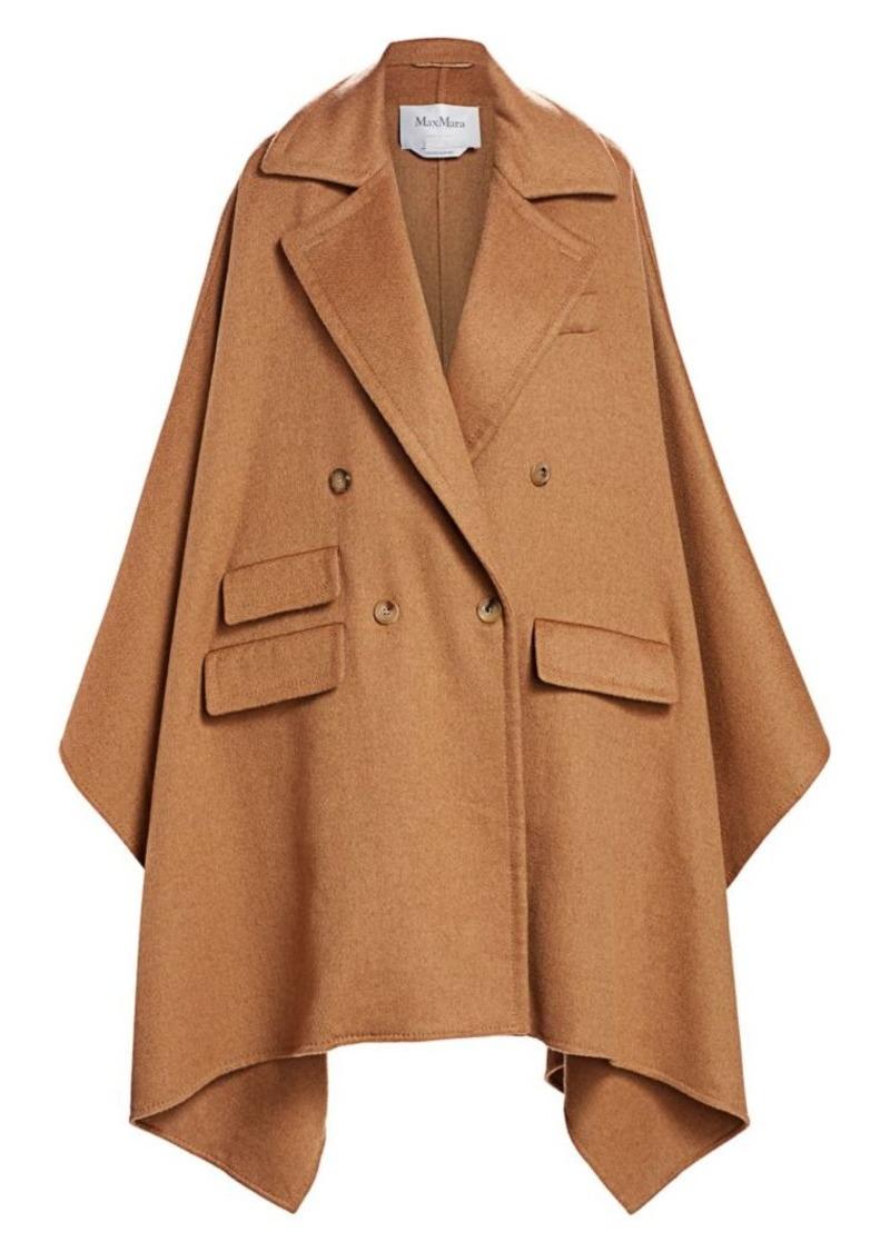 Max Mara Eureka Wool Cape Jacket