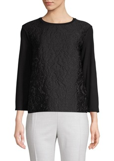 Max Mara Floral Design Top