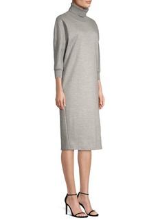 Max Mara Freda Turtleneck Sweatshirt Dress
