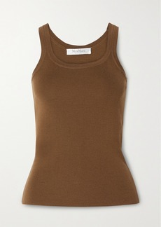 Max Mara Gallo Ribbed Wool Tank