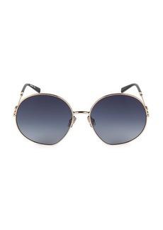 Max Mara Gleam 59MM Sunglasses