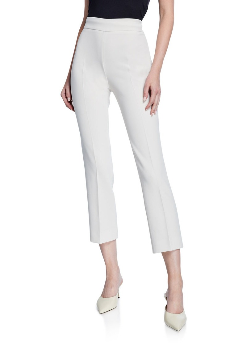 Max Mara Guglia Cady Side Zip Pants