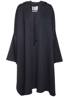 Max Mara Hooded Double Cashmere Cape