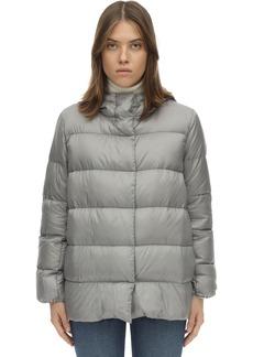 Max Mara Hooded Nylon Down Jacket
