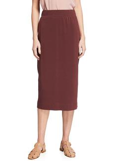 Max Mara Jersey Pencil Skirt