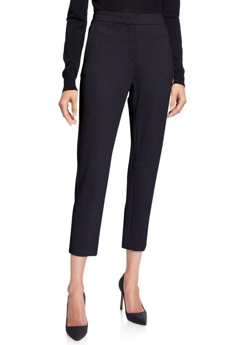 Max Mara Jersey Zip-Front Pants