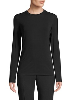 Max Mara Knit Long-Sleeve Shirt