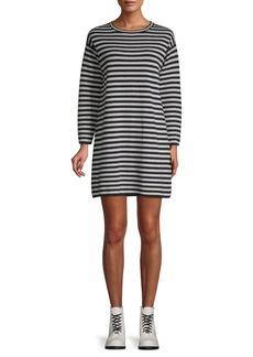 Max Mara Larix Striped Sweatshirt Dress