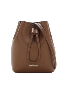 Max Mara Leather Bucket Bag