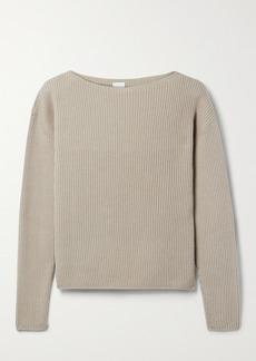 Max Mara Leisure Ciro Ribbed Cotton-blend Sweater