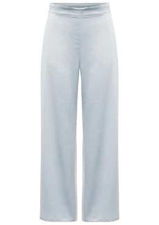 Max Mara Leisure Enfasi high-rise satin pants